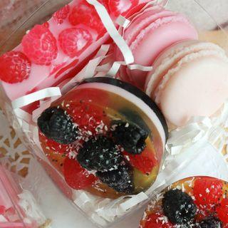 Soap Set Raspberry Cookies