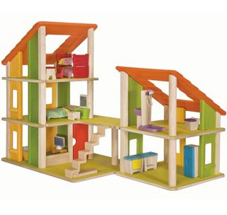 Wooden doll house Chalet