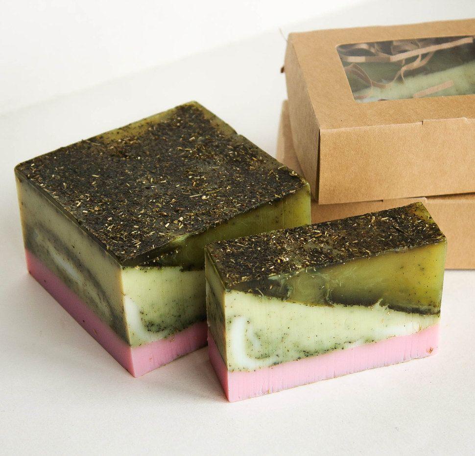 Sweet Bliss bar 0.9 kg - fragrant handmade soap