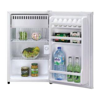 DAEWOO FR-081AR fridge, 88 litres total, 12 litre freezer, 44x45.2x72.6cm, white