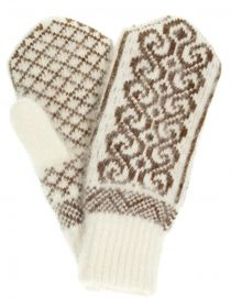 Mittens for women 'Oak' without drawing on elastic PP