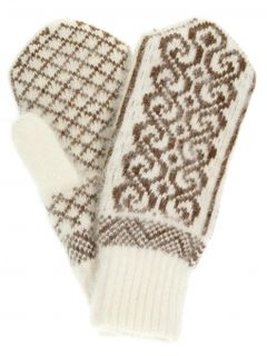 "Mittens for women ""Oak"" without drawing on elastic PP"
