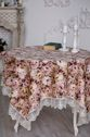 Tablecloth with lace Sharmon - view 1