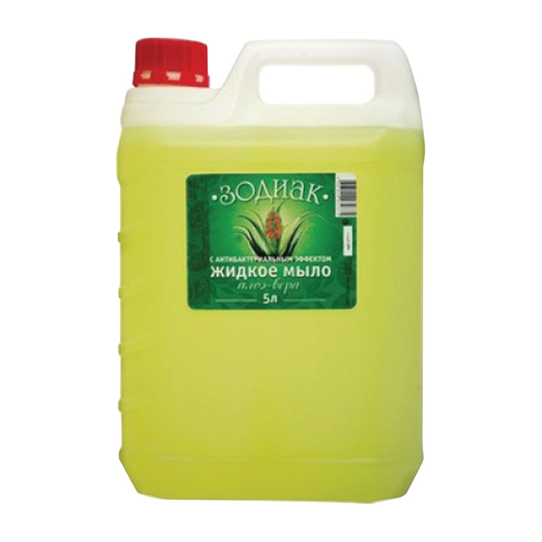 """Liquid soap 5 litres, ZODIAC, antibacterial, """"Aloe Vera"""""""