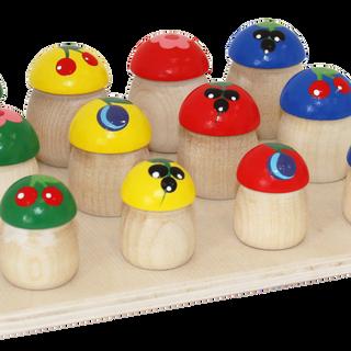"Set ""Mushrooms"" 12 pieces"