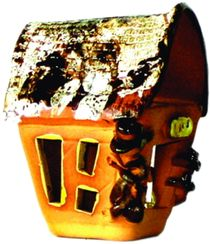 Ceramic candlestick 'House'