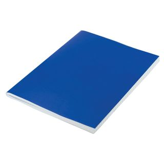 Buguinil notebook, A4, 96 sheets, staple, offset No.1, cage, STAFF, BLUE