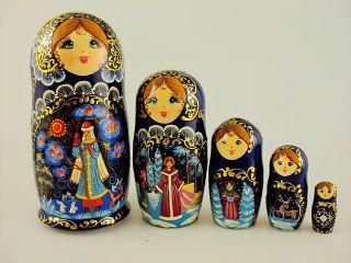 Matryoshka 5 seats Storyline - Souvenir