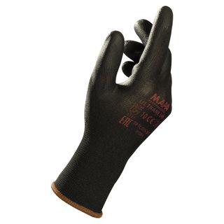 MAPA / Nylon gloves Ultrane 548, polyurethane coating (doused), size 9 (L), black