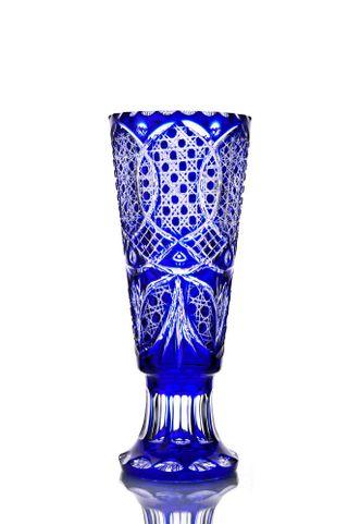 """Crystal vase for flowers """"Carnation"""""""