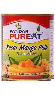 Sweet mango pulp