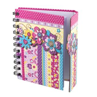 Small FORMAT Notebook (105 x 145 mm) A6, 80 sheets, spiral, hardcover, magnetic valve, line, BRAUBERG,