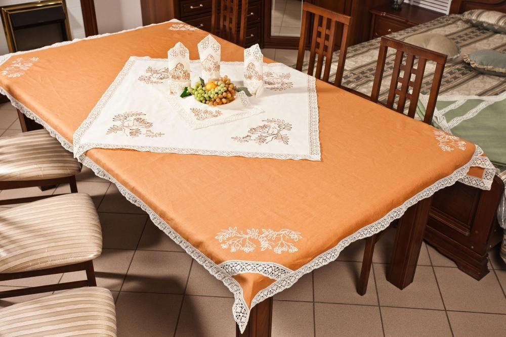 Set table linen Ryabinka