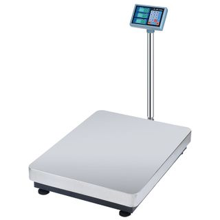MERCURY / Floor scales M-ER 333ACLP-600.200 LED (4-600 kg) with a stand, resolution 200 g, platform 600x800 mm