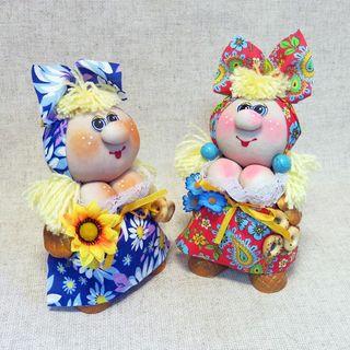 Doll textile Solokha