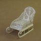 Kazakovskaya Filigree / Small sledge souvenir silver plating - view 1