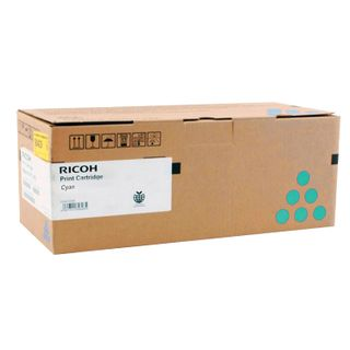 RICOH Toner Cartridge (407641) Ricoh SP C340DN / C342DN Cyan, Yield 2300 Pages, Original