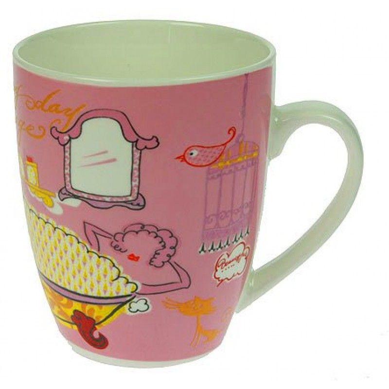 """Mug for tea """"Fashion verdict"""" 300ml."""