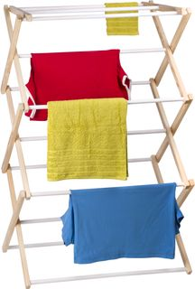 Wooden clothes dryer