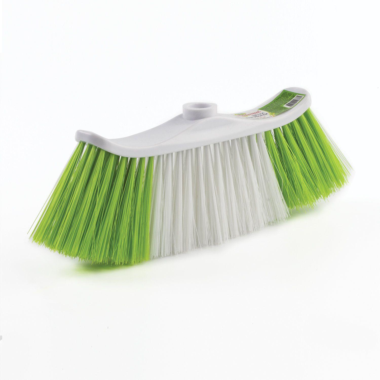 LYUBASHA / Cleaning brush, width 25 cm, bristle 8 cm, two-color, plastic, fastening euro-thread