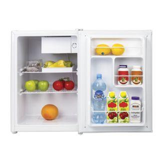 SONNEN DF-1-08 fridge, single-camera, 70 litre, 4 litre freezer, 44 x 51 x64cm, white