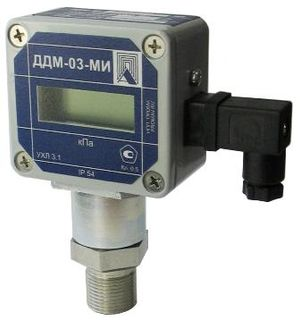 Explosion-proof pressure sensor with indication DDM-03-MI