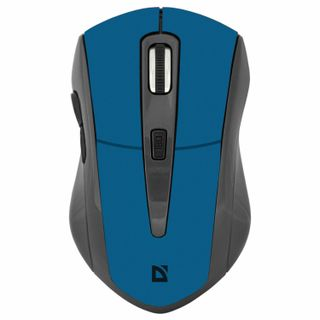 DEFENDER / Wireless Mouse Accura MM-965, USB, 5 buttons + 1 wheel-button, optical, blue