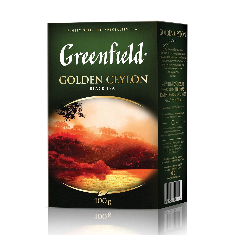 чай Golden Ceylon