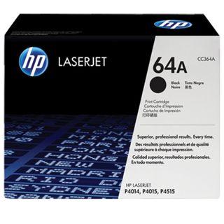 Toner cartridge HP (CC364A) LaserJet P4014 / P4015 / P4515 and others, # 64A, original, yield 10,000 pages