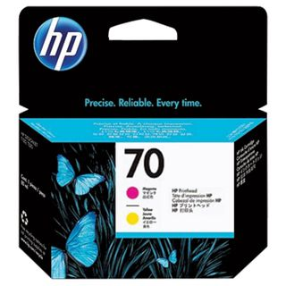 HP / Plotter Printhead (C9406A) DesignJet Z2100 / Z3100 # 70 Magenta & Yellow Original