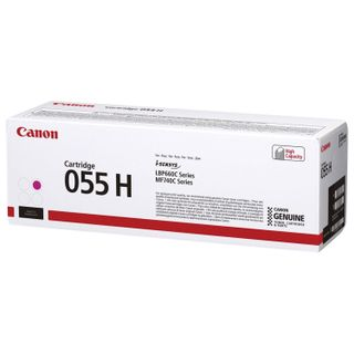 Toner cartridge CANON (055HM) for LBP663 / 664 / MF742 / 744/746, magenta, original, yield 5900 pages
