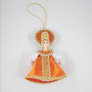 Christmas toy porcelain Girl Sun, 13 cm