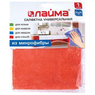 LIME / Universal napkin, microfiber, 30x30 cm, orange