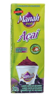 Flesh of acai berries and guarana 1 l