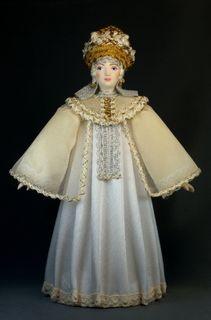 Souvenir dolls Russ Golden. Generalized poetic image.(ser.2)