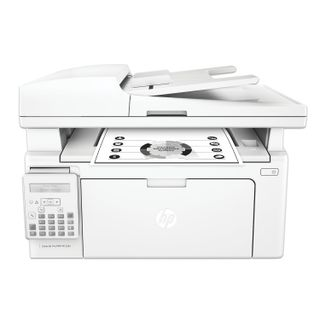Laser MFP HP LaserJet Pro M132fn (printer, copier, scanner, fax), A4, 22 ppm, 10,000 ppm, ADF, s / k, (without USB cable)