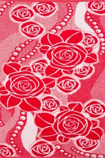 Towel Roses with pearls Art. 1271