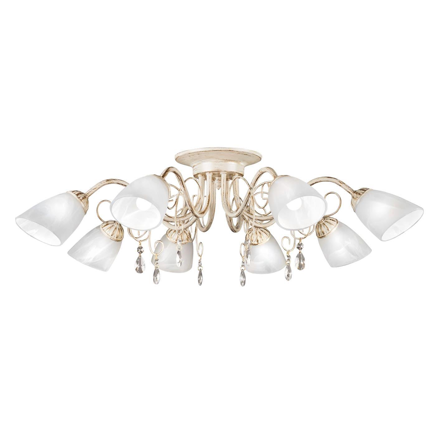PETRASVET / Ceiling chandelier S2019-8, 8xE14 max. 60W