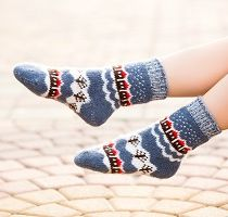 Bright Children's Wool Socks