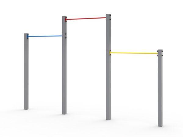 The horizontal bar D403 Playground powder paint