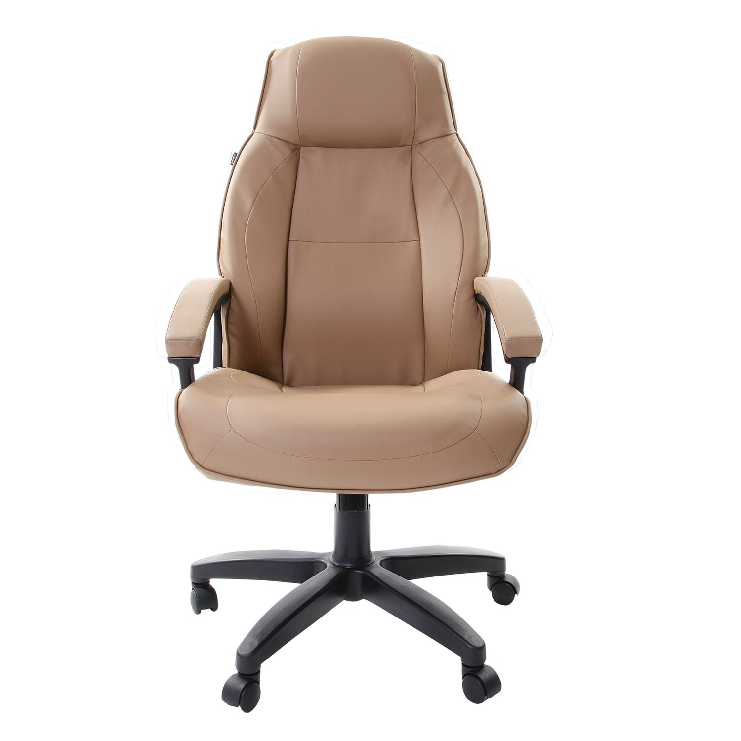 """Office chair BRABIX """"Formula EX-537"""", eco-leather, sand"""