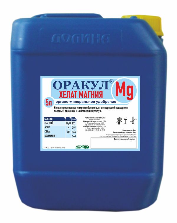 Oracle / Multicomplex, 5 liters