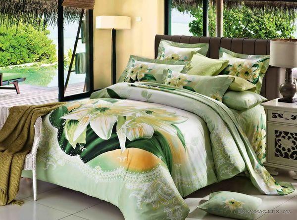 Satin bed linen 3D Aliya
