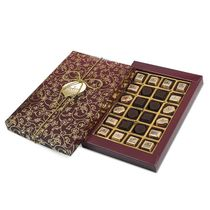 Set of chocolates 'Gift' Burgundy