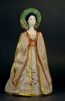 Doll gift. Signora Capulet. Italy. 15th century.
