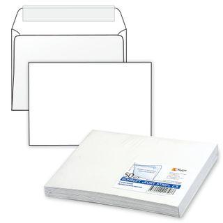 Envelopes C5 (162х229 mm) tear-off strip, white, SET of 50 PCs., inner sealing