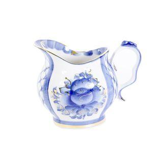 The milkman Rhapsody in Blue gold, Gzhel Porcelain factory