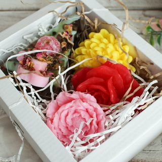 Floral bliss - gift set soap