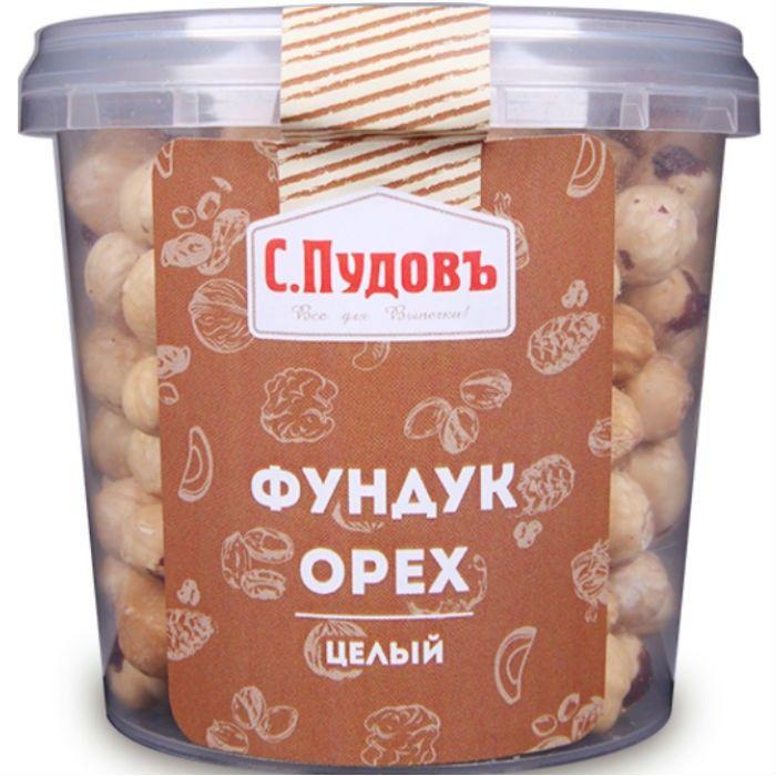 Whole hazelnuts S. Pudov, 180 g