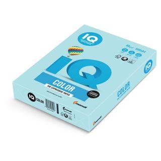 IQ COLOR / A4 paper, 80 g / m2, 500 sheets, pastel, blue
